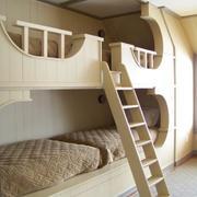楼梯架之儿童双人床设计
