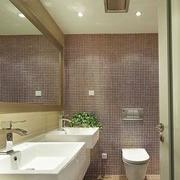 20平米欧式卫生间背景墙