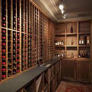 精美日式酒柜架子整套设计