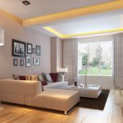 客厅低矮型沙发设计