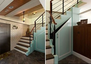 创意复式楼梯装修效果图
