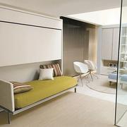 收纳式沙发床设计