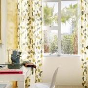 清新式田园窗帘设计