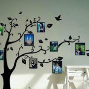树形照片墙创意设计