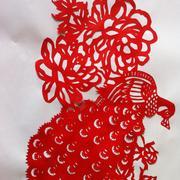 红色喜庆剪纸