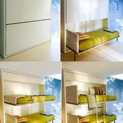 小户型高低单人床设计