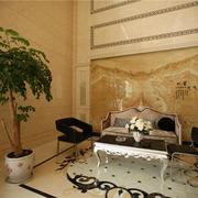 大型瓷砖背景墙设计