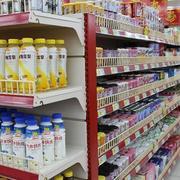 夏日饮品区货架
