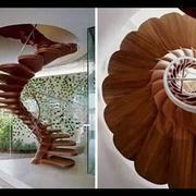 立体式楼梯造型
