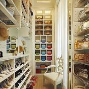 衣帽间鞋柜整体式设计