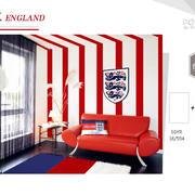 英格兰竖条墙面涂料
