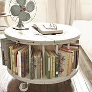 环形整体书架