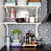 厨房餐具区背景墙