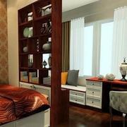 中式卧室小飘窗设计