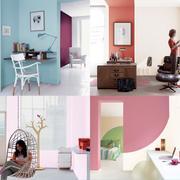 彩色系清新式多乐士墙面涂料