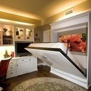 闭合式收纳床设计