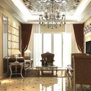 欧式古典瓷砖地面设计