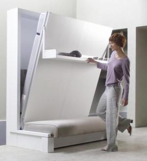 小型卧室折叠床图片大全