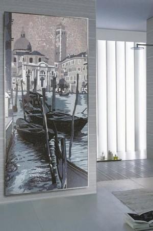 日式马赛克背景墙图片
