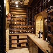 日式暗格式酒柜设计