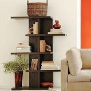 客厅小型置物书柜设计
