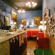 老旧风味奶茶店