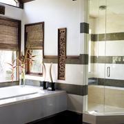 东南亚洗手间设计
