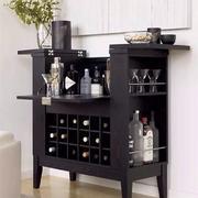 桌子型小酒柜设计
