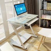 白色单人桌造型