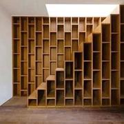 楼梯隔断收纳一体化设计