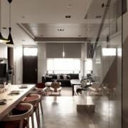 长条形客厅设计