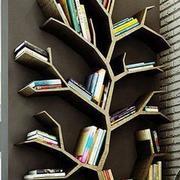 树枝型书架设计