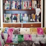 多彩女生书房设计