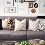欧式公寓沙发背景墙设计