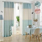 清新淡色系窗帘设计