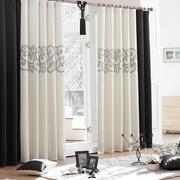 白色高端视觉系窗帘设计