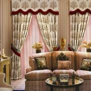 美式复古新款窗帘设计