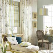 田园系美式窗帘设计