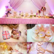 粉色婚礼现场设计