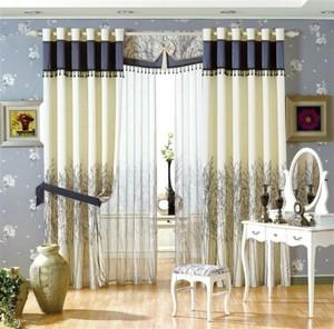 大户型客厅豪华窗帘设计