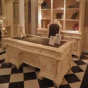 欧式经典书房书桌设计
