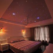 浪漫型星空卧室设计