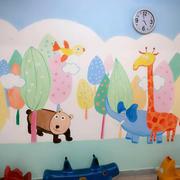 幼儿园教室墙画设计