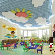 幼儿园教室花样吊顶设计