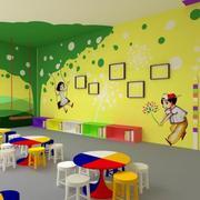 多姿多彩的幼儿园教室