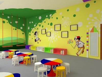 幼儿园教室主题布置图片