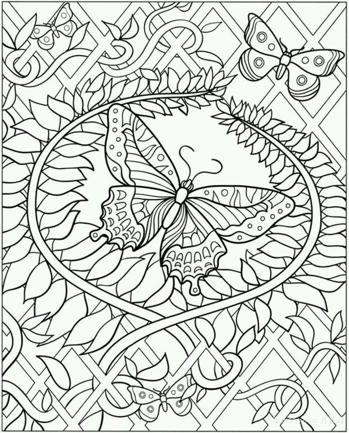 黑白线描写装饰画-齐装网装修效果图