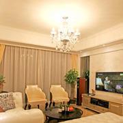 法式大户型客厅家装设计