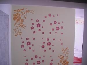 卧室贴花壁纸