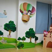 幼儿园教室角落展示